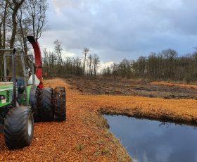 Herstel sloten en greppels in Natura 2000-gebied De Wieden